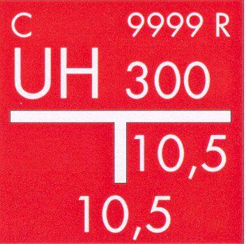 Sarkana atstarojoša kompozītmateriāla plāksne hidrants
