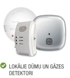Kategorija ugunsdrošība lokālie un gāzes detektori