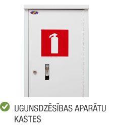 Produktu kategorija ugunsdrošība ugunsdzēsības aparātu kaste