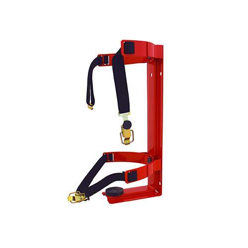 Sarkans transporta stiprinājums ugunsdzēsības aparātam 2