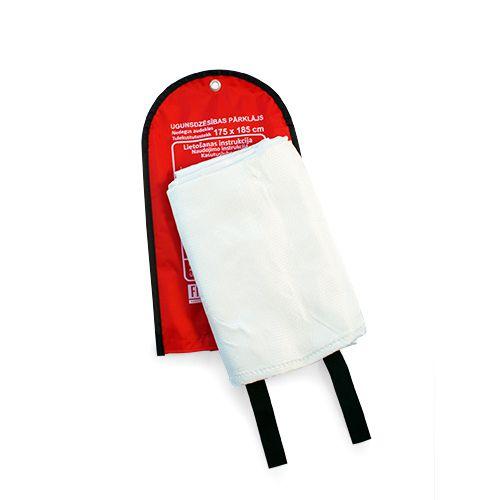Sarkana soma ar baltu ugunsdzēsības pārklāju 175