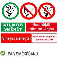 Produktu kategorija uzlīmes uzlīmes par smēķēšanu