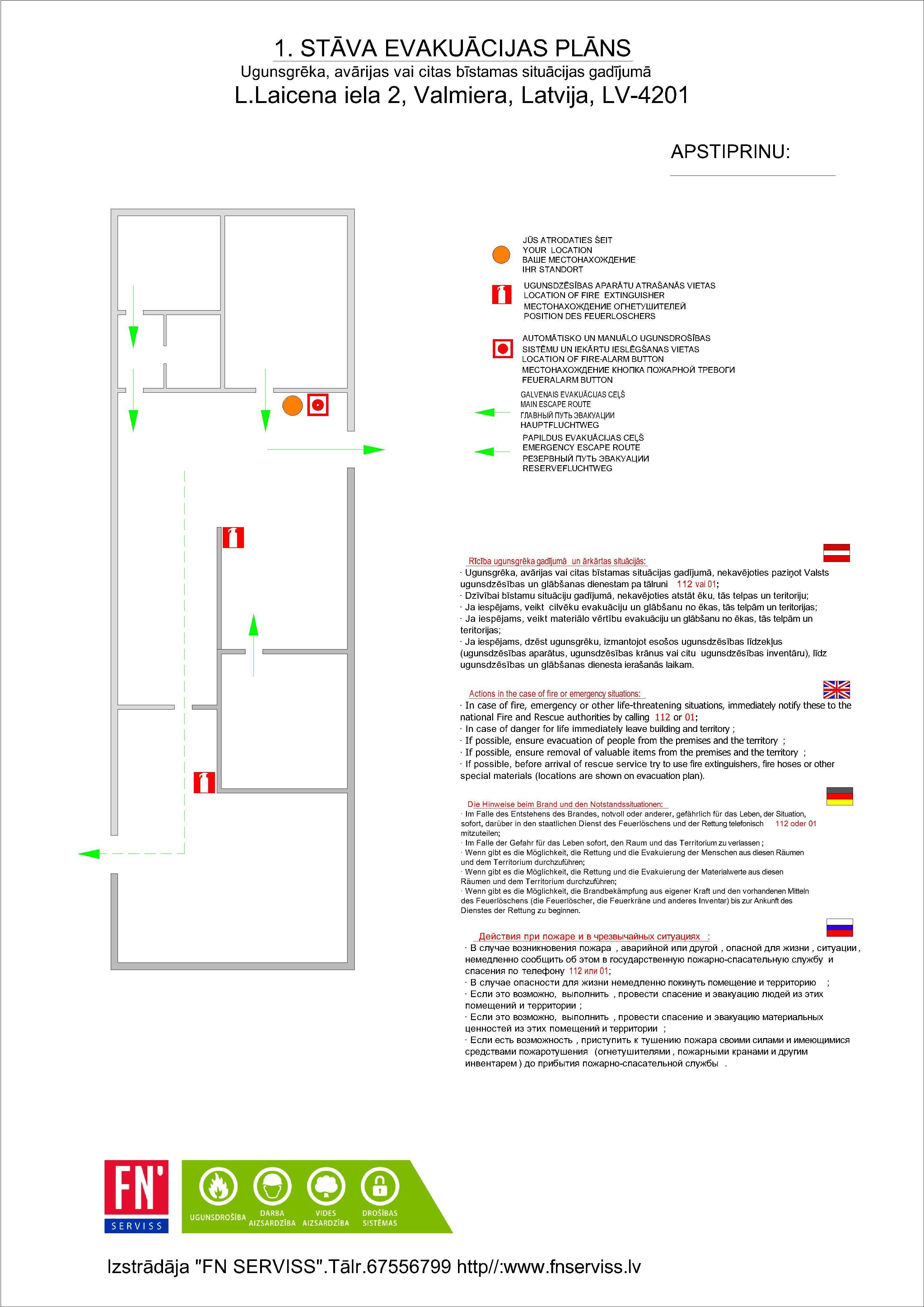 Evakuācijas plānu izstrāde un nepieciešamība
