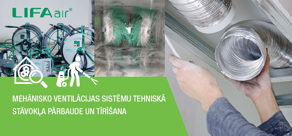 Mehānisko ventilācijas sistēmu tehniskā stāvokļa pārbaude