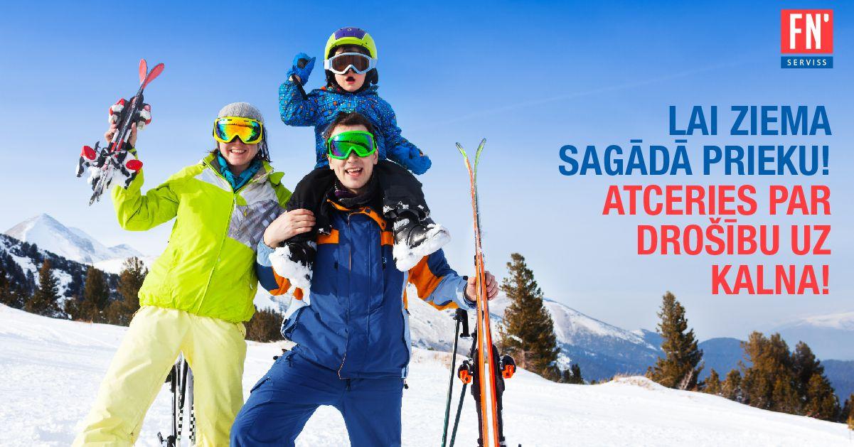 Lapa ziemas sports drošība uz kalna
